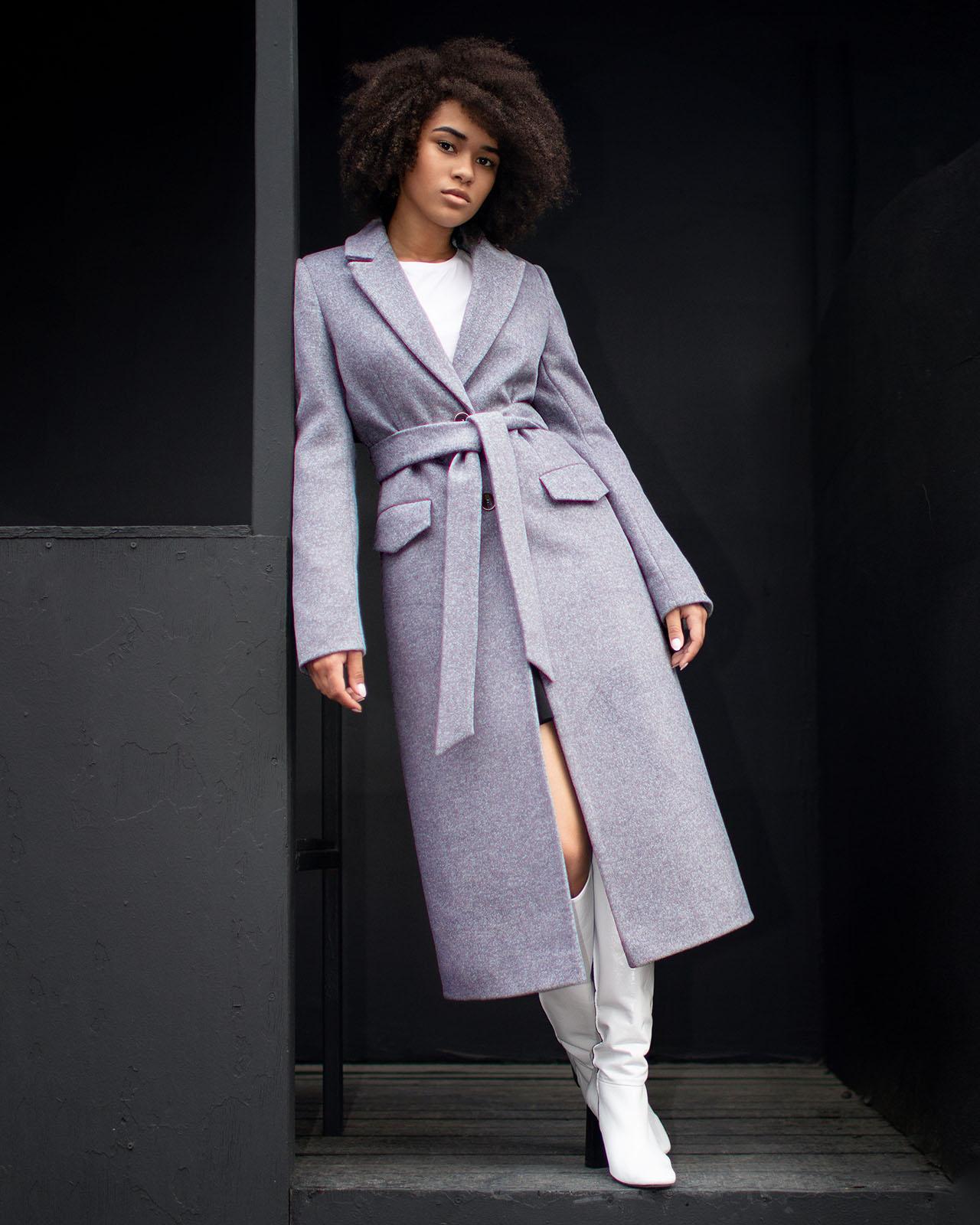 Пальто демисезонное м.093
