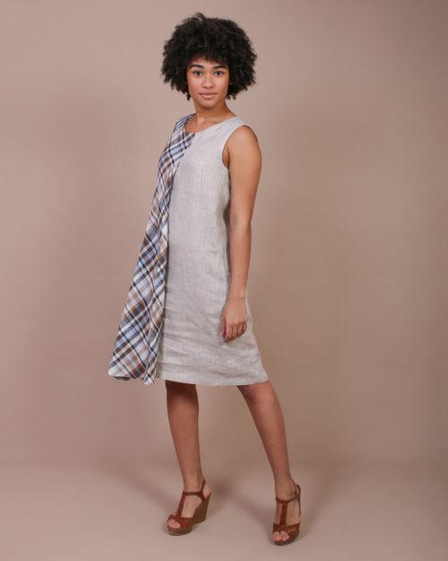 Платье с накидкой м.032