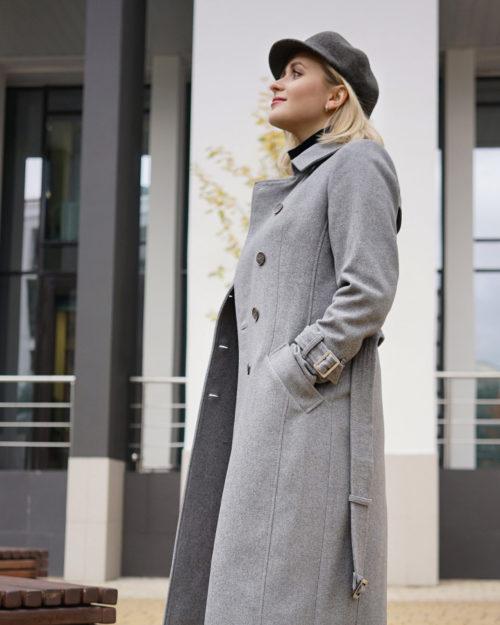 Пальто демисезонное м.090