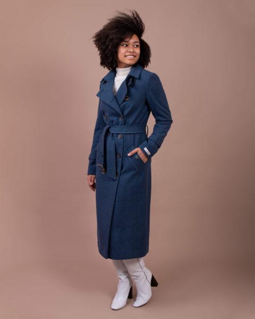 Пальто демисезонное м.092