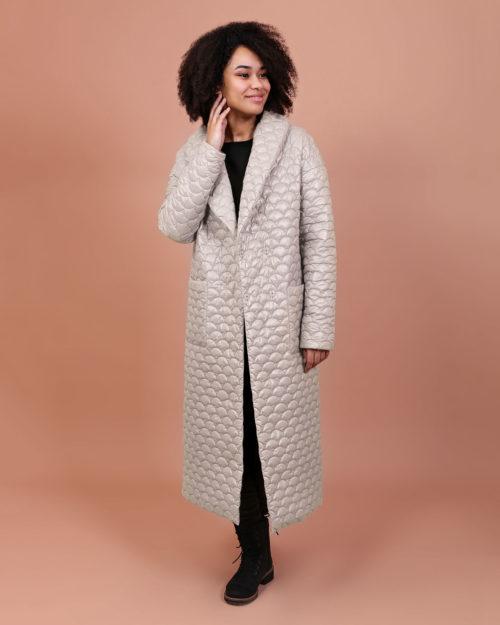 Пальто демисезонное м.089